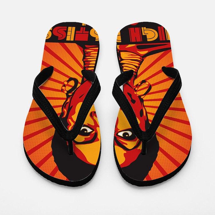 High Priestess of Soul Framed Print Flip Flops
