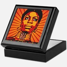 High Priestess of Soul Framed Print Keepsake Box