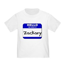 hello my name is zackary T