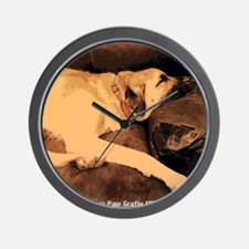 Anatolian Couch Potato Wall Clock