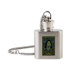 Misunderstood Poster Flask Necklace