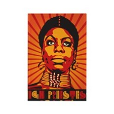 High Priestess of Soul Nook Rectangle Magnet
