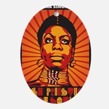 High Priestess of Soul Nook Oval Ornament