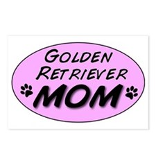 Golden Retriever Mom Postcards (Package of 8)