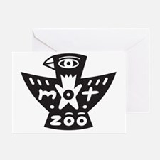mot-zoo logo Greeting Card