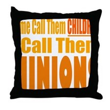 I Call Them Minions Throw Pillow