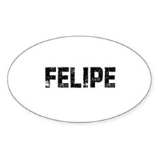 Felipe Oval Decal