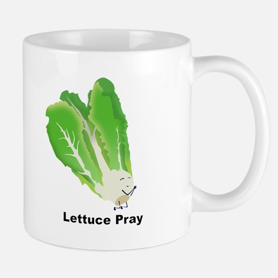 Lettuce Pray Coffee Mug