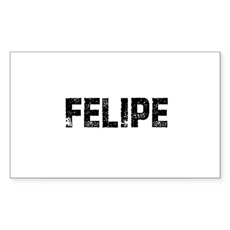 Felipe Rectangle Sticker