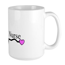 Retired Nurse QRS Mug