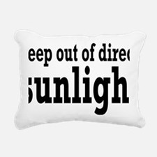 sunlightrectangle Rectangular Canvas Pillow