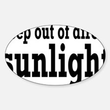 sunlightrectangle Decal