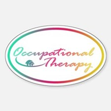 Occupational Therapy Oval Decal