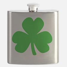Three Leaf Clover Flask