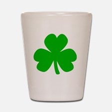 Three Leaf Clover Shot Glass
