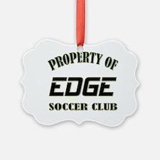 Property of Edge Soccer Ornament