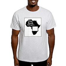 Africa Bookplate T-Shirt