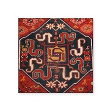 "Cloudband Rug Medallion Square Sticker 3"" x 3"""