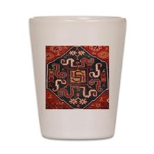 Cloudband Rug Medallion Shot Glass