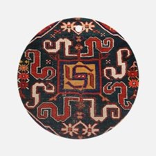 Cloudband Rug Medallion Round Ornament