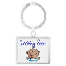 Arriving Soon-Afro American Bab Landscape Keychain