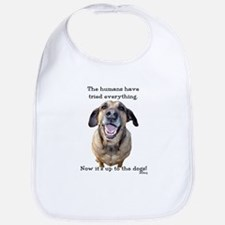 Up to the Dogs Bib