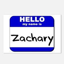 hello my name is zachary  Postcards (Package of 8)