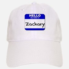 hello my name is zachary Baseball Baseball Cap