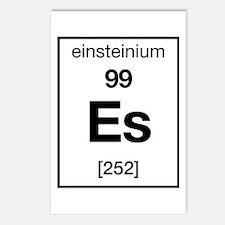 Einsteinium Postcards (Package of 8)