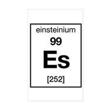 Einsteinium Rectangle Decal
