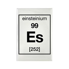Einsteinium Rectangle Magnet