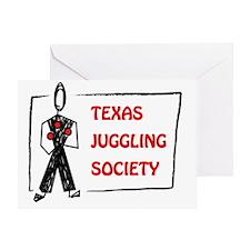 TJS clubshirt pocket Greeting Card