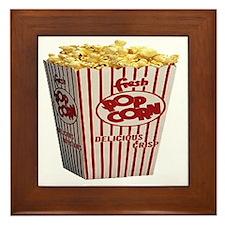 popcorn Framed Tile