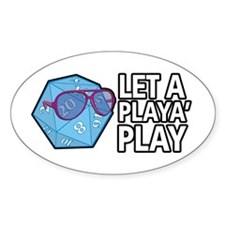 D20 Playa Decal