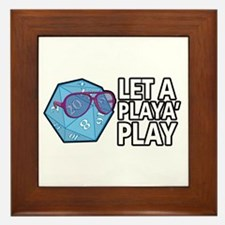 D20 Playa Framed Tile