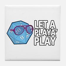 D20 Playa Tile Coaster