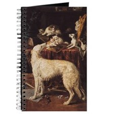 Borzoi And Cats Journal
