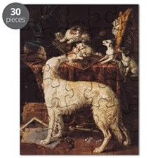 Borzoi And Cats Puzzle