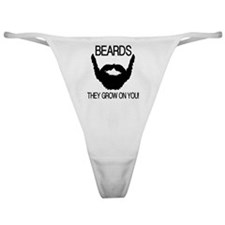 Beards they grow on you Classic Thong