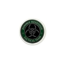 Zombies! (ZRTT Green/White) Mini Button