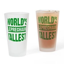 Leprechaun Drinking Glass