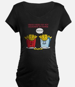 french fries smiley T-Shirt