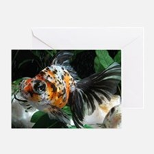 Calico Puzzle Image Greeting Card
