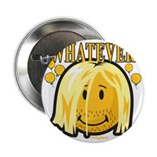 """Whatever smiley 2.25"""" Button"""
