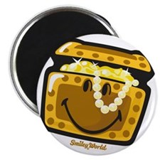 Treasure Smiley Magnet