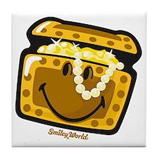 Treasure Smiley Tile Coaster