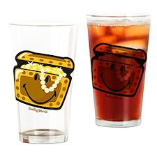 Treasure Smiley Drinking Glass