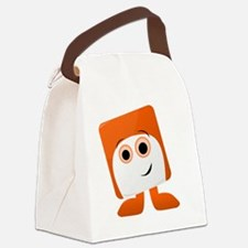 Chuckles Badge Canvas Lunch Bag