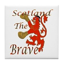 Scotland the Brave Boxing Tile Coaster