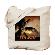 Sunset North Shore Oahu Tote Bag